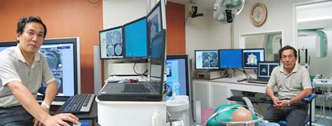 CT室とオペ室