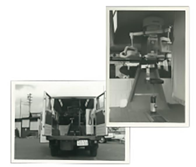移動用車載パノラマX線撮影装置