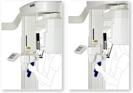 CT撮影エリアの上下移動が可能な「CTポジションシステム」