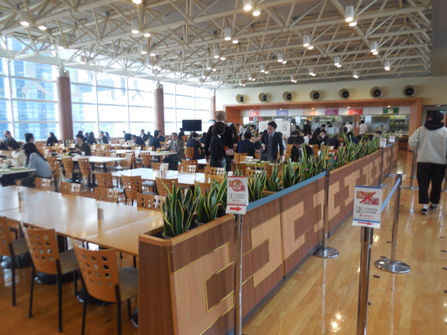 新関東営業所社員食堂